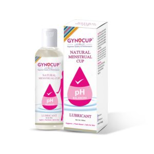 menstrual cup lubricant